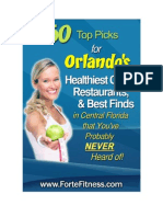 50-Healthiest places to eat in Orlando