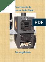Construcción de horno de leña. Horno Sisale , Wood oven Sisale