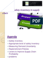 Managing Safety Inventory in Supply Chain_