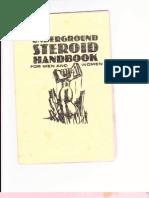 Underground Steroid Handbook