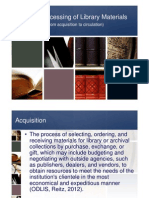 Basic Processing of Library Materials - Yap