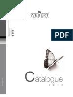 Webert Catalogue 2012
