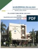 Placement Brochure Mem 2012 -2013