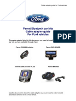 Cable Adapter Guide for Ford Vehicles