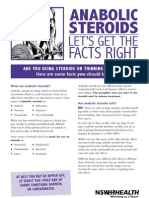 Anabolic Steroids Handout