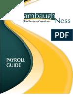 Stambaugh Ness, PC 2012-2013 Payroll Processing & Payroll Tax Guide