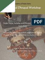 Workshops Rudra Veena
