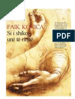 """Faik Konica """"Mbi edukimin"""" – Bruksel 1898"""