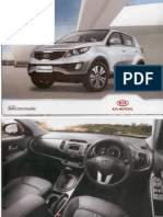 Kia Sportage Brochure 120
