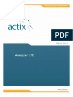 Analyzer LTE Training