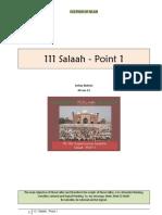 111 Salaah - Point 1