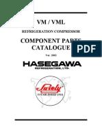 Hasegawa Parts Manual