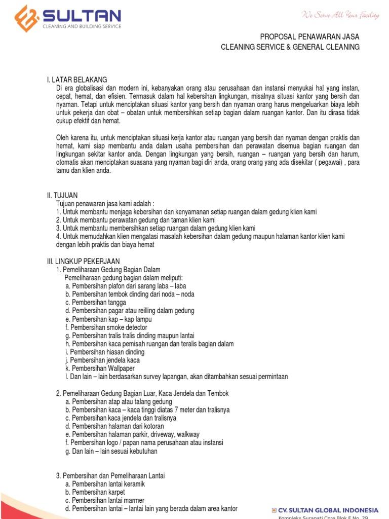 Proposal Penawaran Jasa