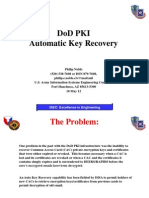 Automatic Key Recovery New