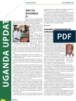 Uganda Update Summer 2008