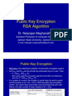Module Public Key Encryption RSA