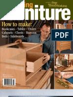 Fine Woodworking - Building Furniture 2007