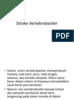 Stroke Vertebrobasiler