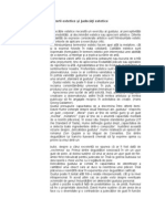 16640061 Criterii Estetice i Judeci Estetice