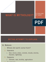 1.What is Mythology