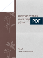 Creation Stories Ordered