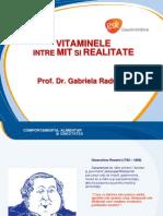 Vitaminele Intre Mit Si Realitate, Dr. Bogdan Nedelcu