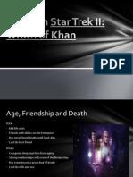 Motifs in Star Trek II