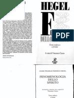 Hegel - Fenomenologia Dello Spirito (Testo Tedesco a Fronte, A Cura Di v. Cicero)