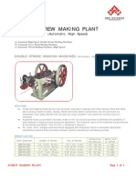 Automatic Machine Screw Making Plant