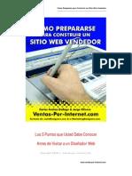 Construir Sitio Web Vendedor