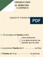 Power Point Fuentes Del Derecho Canonico 13.9.2011