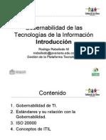 Gobernabilidad Introduccion ITIL