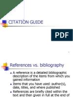 Citation Guide
