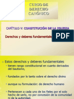 Power Point Derechos y Deberes de Los Fieles 28.9.11