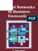 Idea Group Neural Networks in Business Forecasting