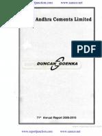 Andhra Cements Ltd 2010
