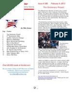 Newsletter 385