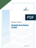 Pobreza Peru 2009