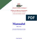 EFT Manual Tehnici de Eliberare Emotionala
