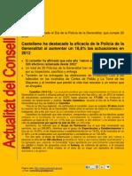 Actualitat Conselleria Governació i Justícia 10-02-2013