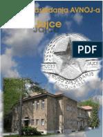 Brošura Muzeja II Zasjedanje AVNOJ-a Jajce
