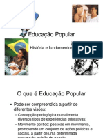 Educacao Popular Historia