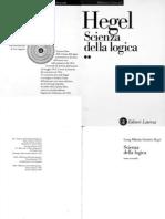Hegel - Scienza Della Logica Vol 2