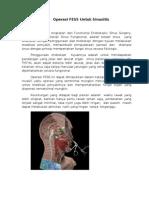 Operasi FESS Untuk Sinusitis