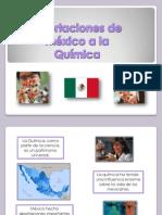 Aportaciones de México a la Química