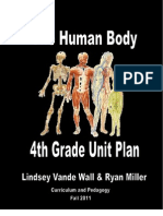 Final Unit Plan 4th Grade Human Body