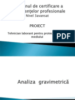 analiza gravimetrica