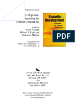 The security and development nexus