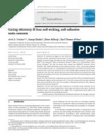 Eficiencia de Curado en Cementos Autograbables y Autop