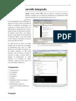 IDE-Entorno de Desarrollo Integrado